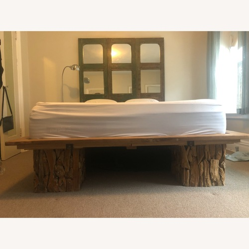 Used From The Source Platform Bed Frame for sale on AptDeco