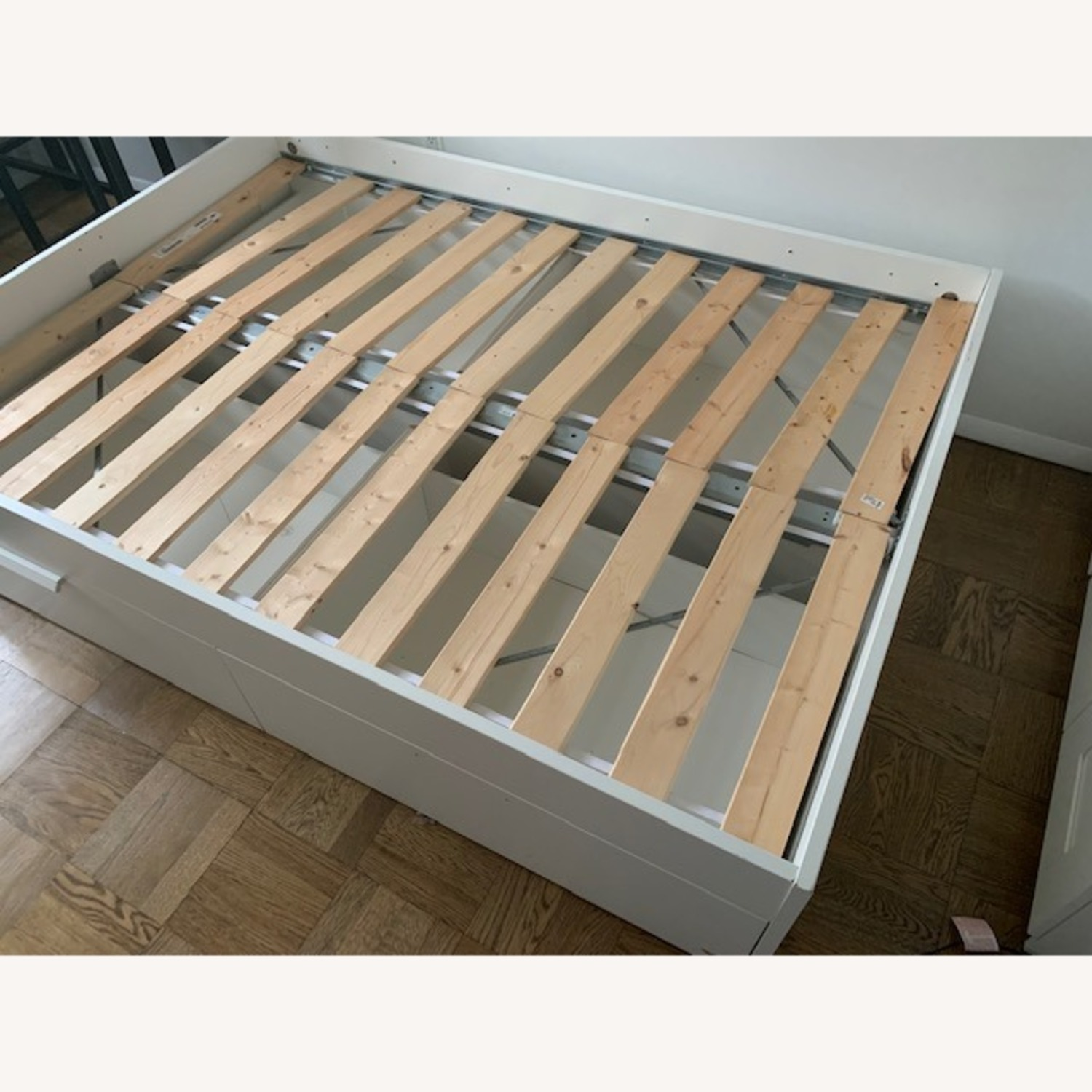 IKEA Queen Bed Frame with Storage - image-1