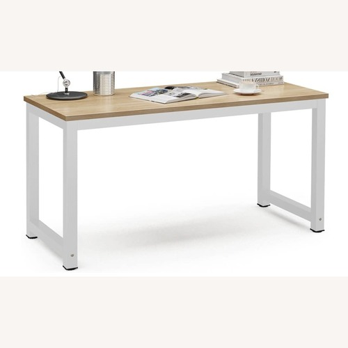Used Modern Wood Home Office Computer Desk Table for sale on AptDeco