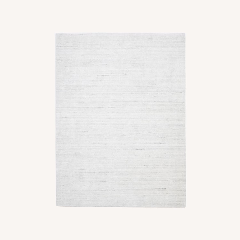 West Elm Shale Striations Rug, Light Gray - image-0