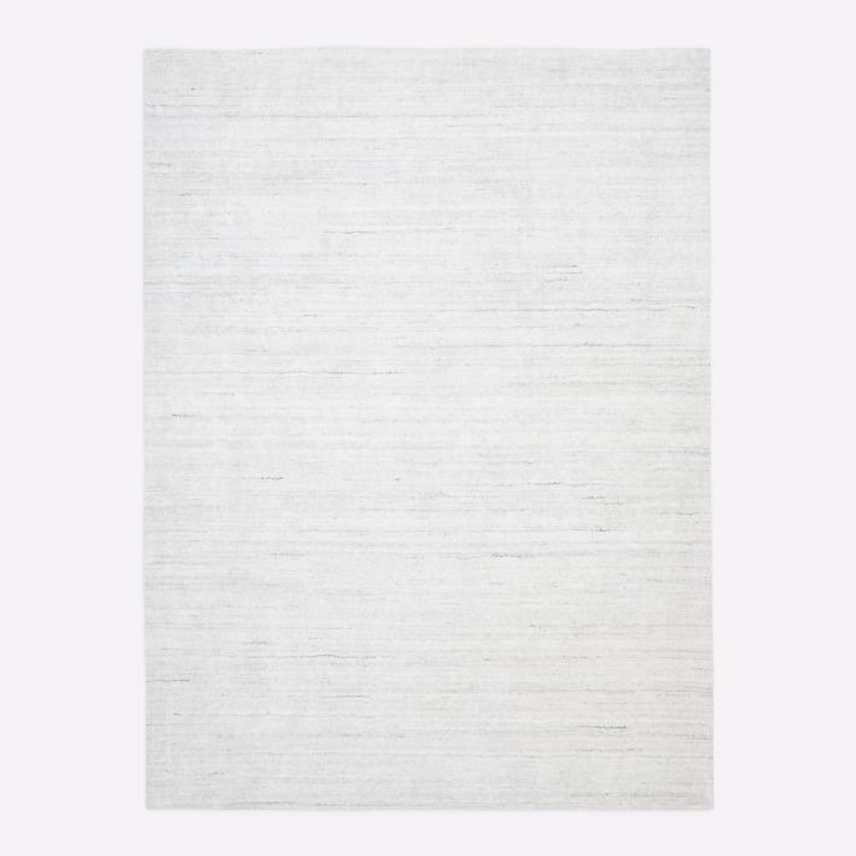 West Elm Shale Striations Rug, Light Gray - image-1