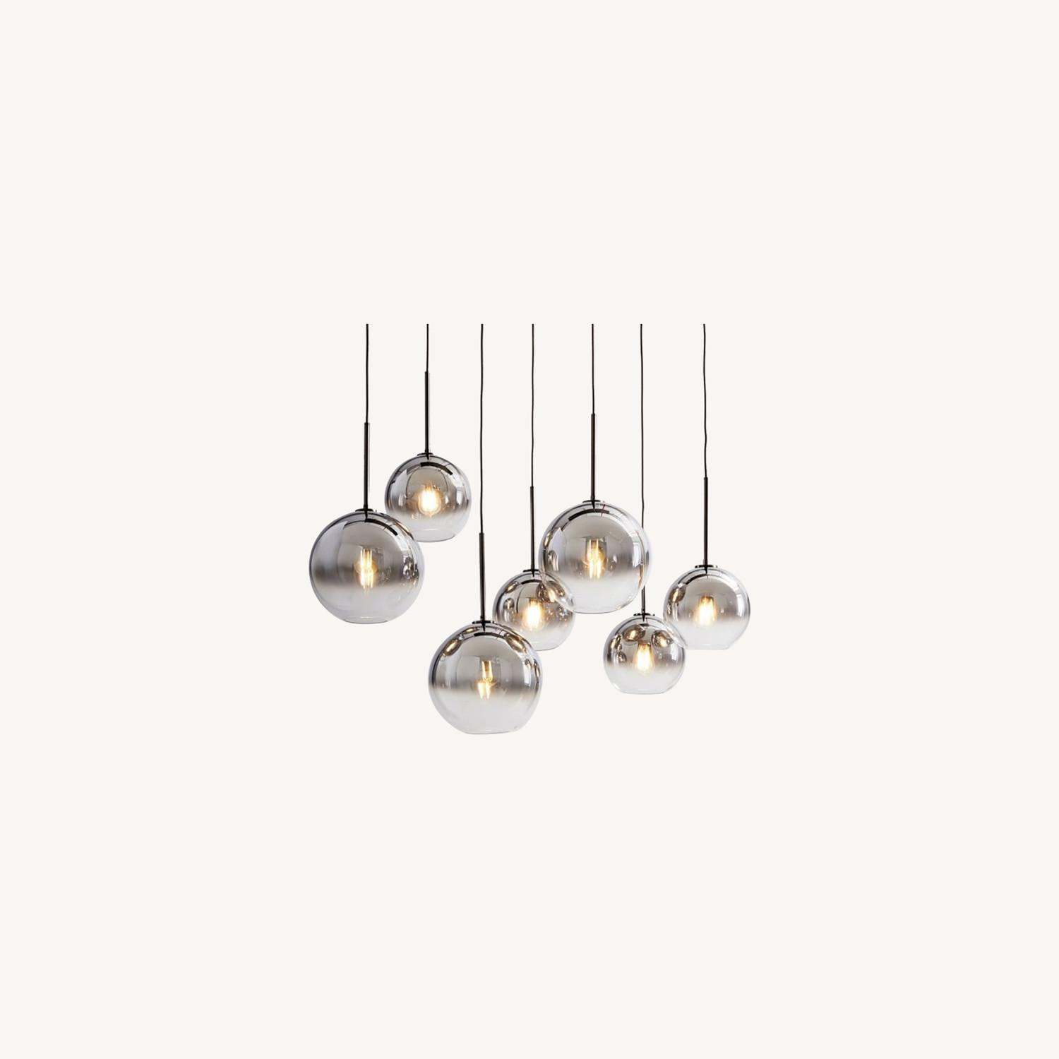 West Elm Sculptural 7-Light Chandelier - image-0