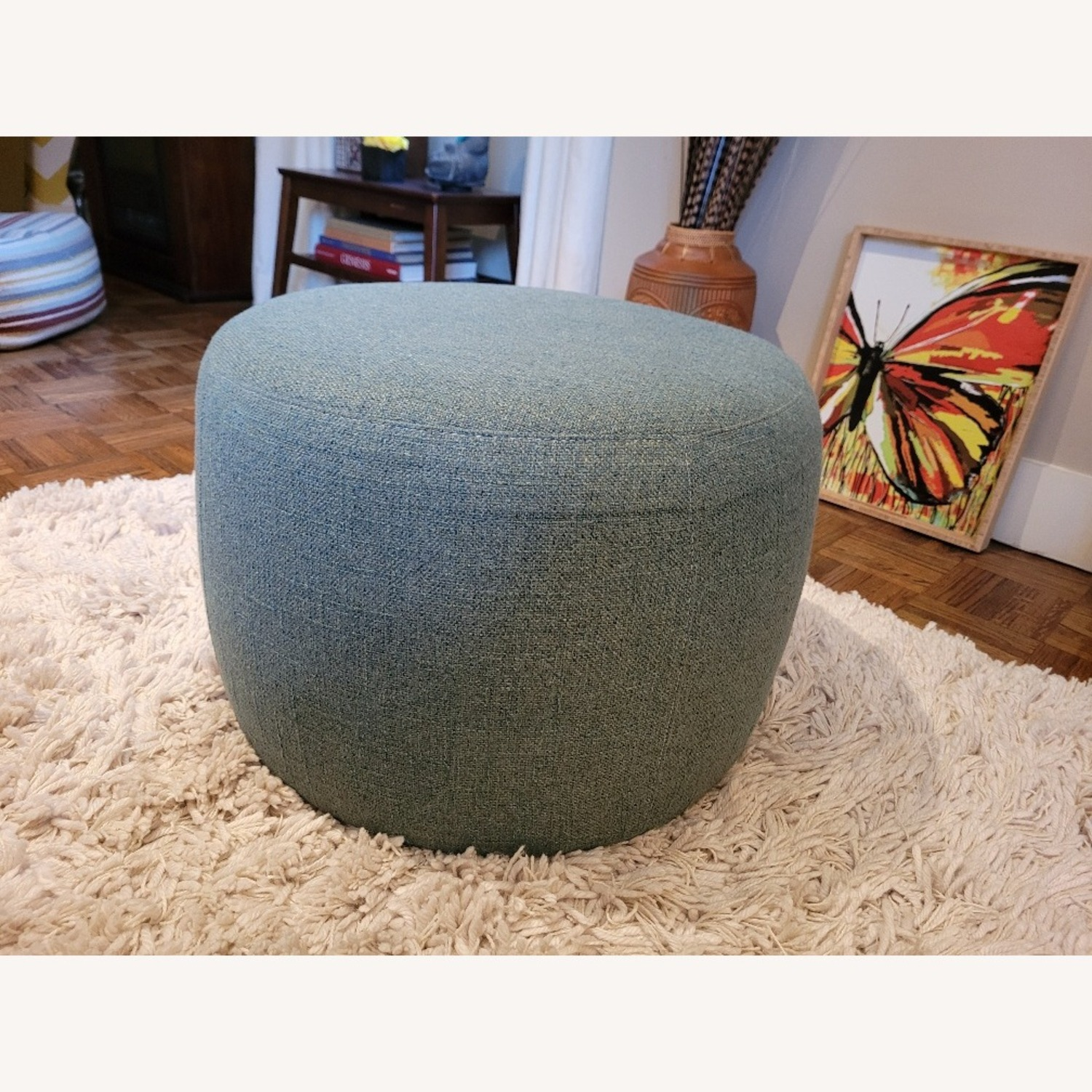Room & Board Lind Round Ottoman - image-1