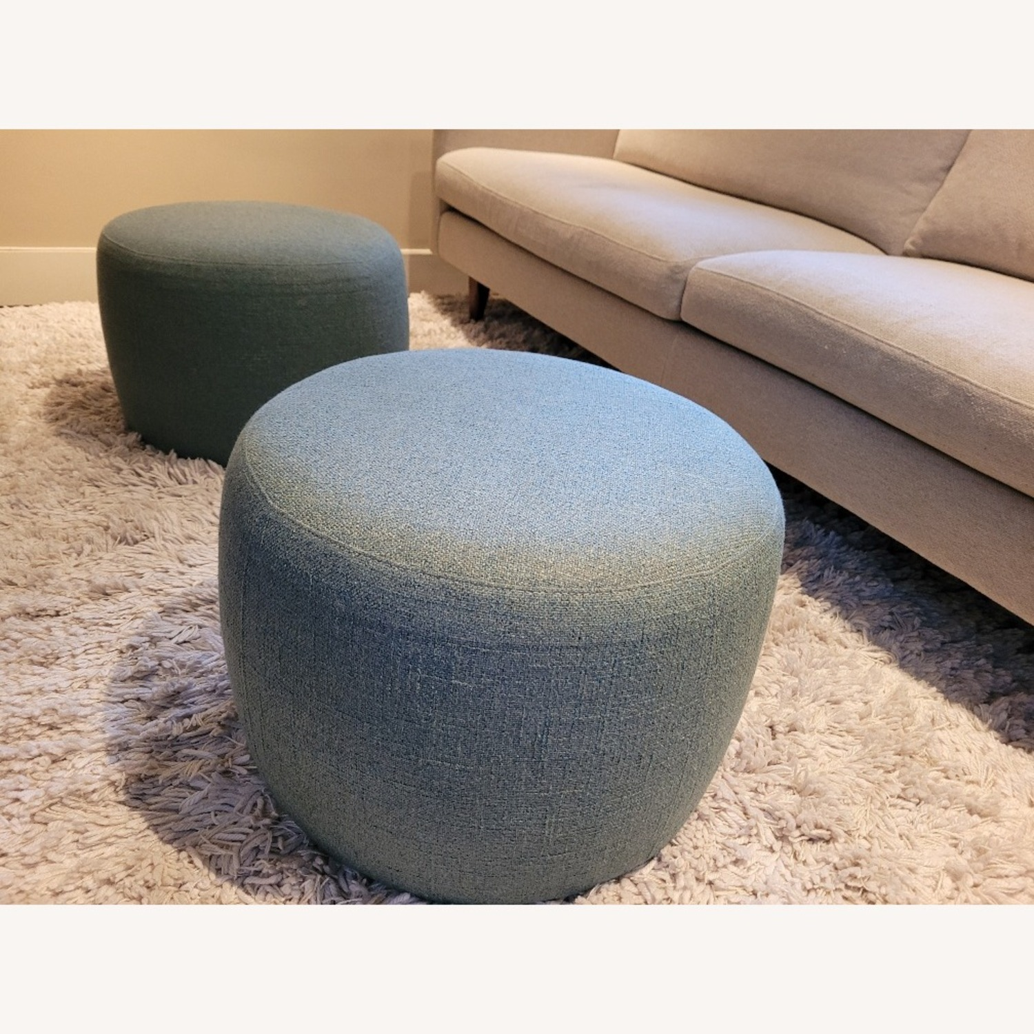 Room & Board Lind Round Ottoman - image-3