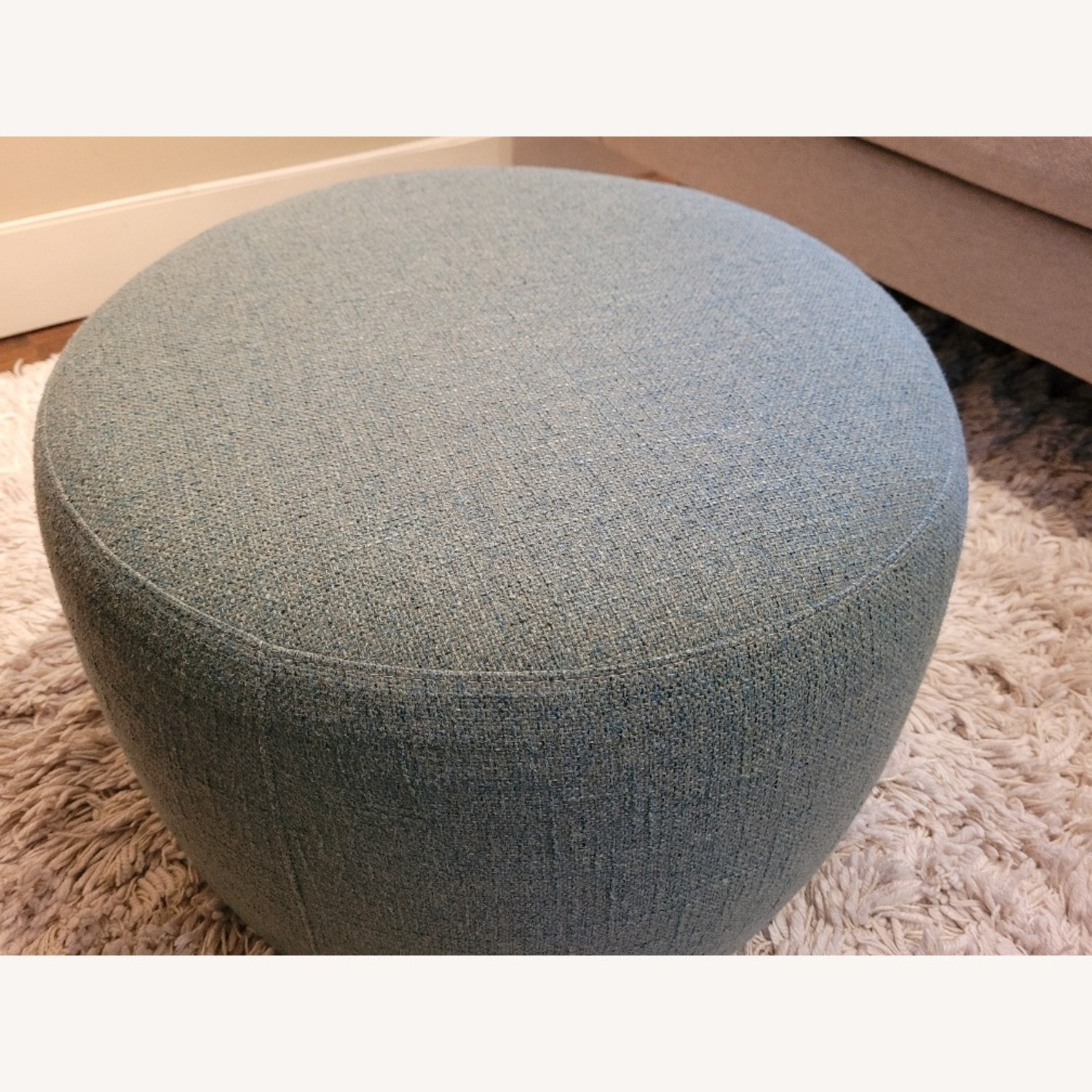 Room & Board Lind Round Ottoman - image-2