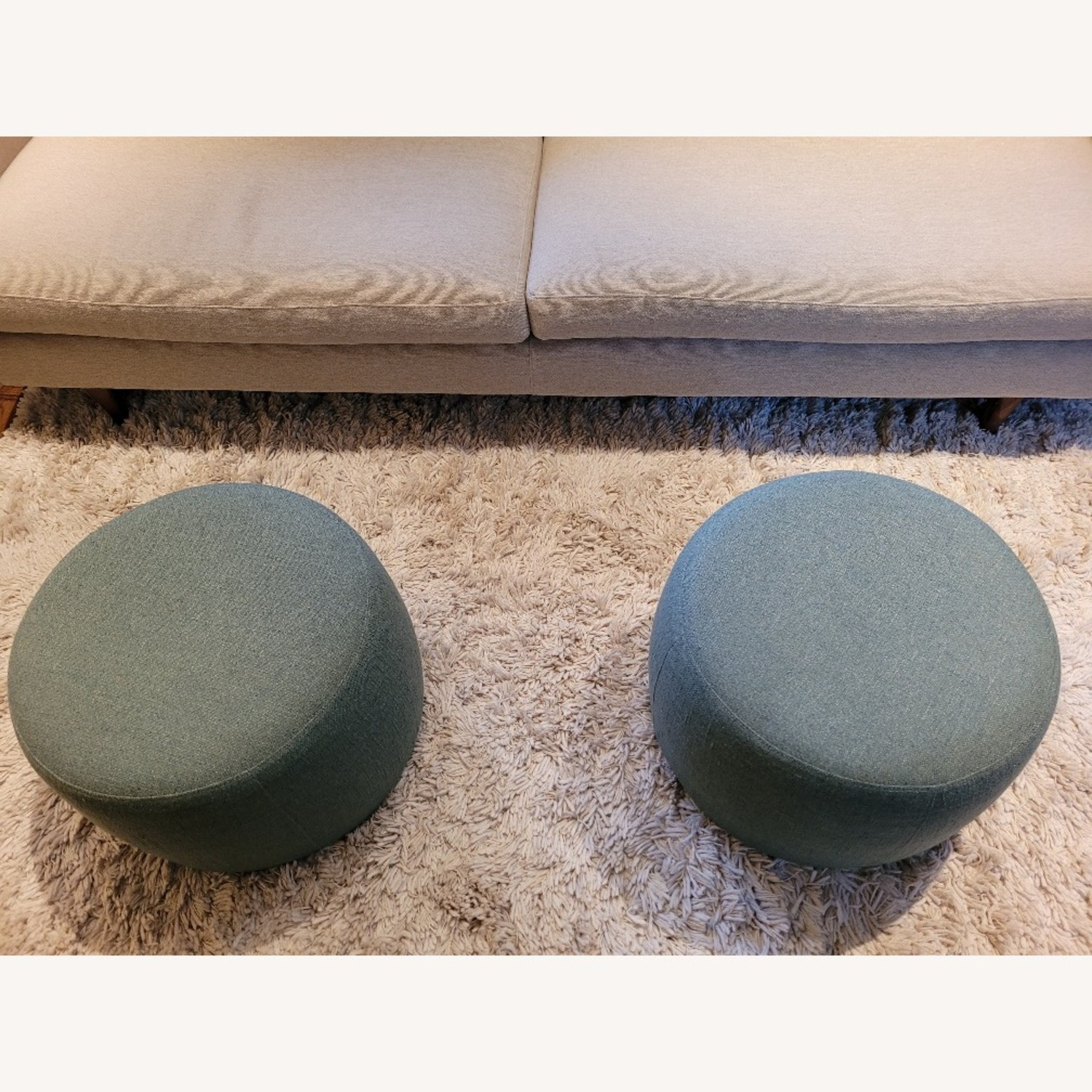 Room & Board Lind Round Ottoman - image-4