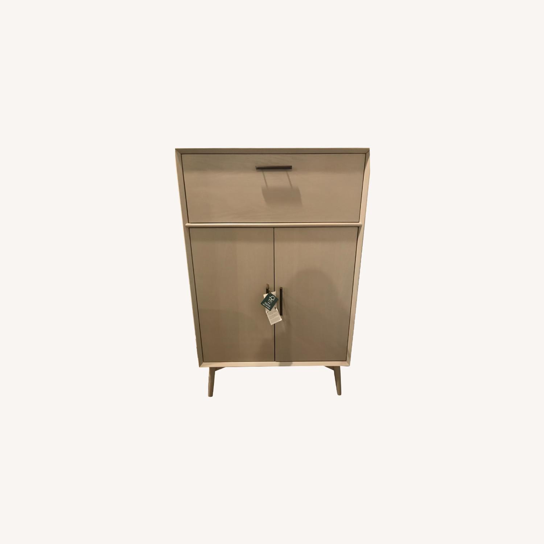 West Elm Bar Cabinet - image-0