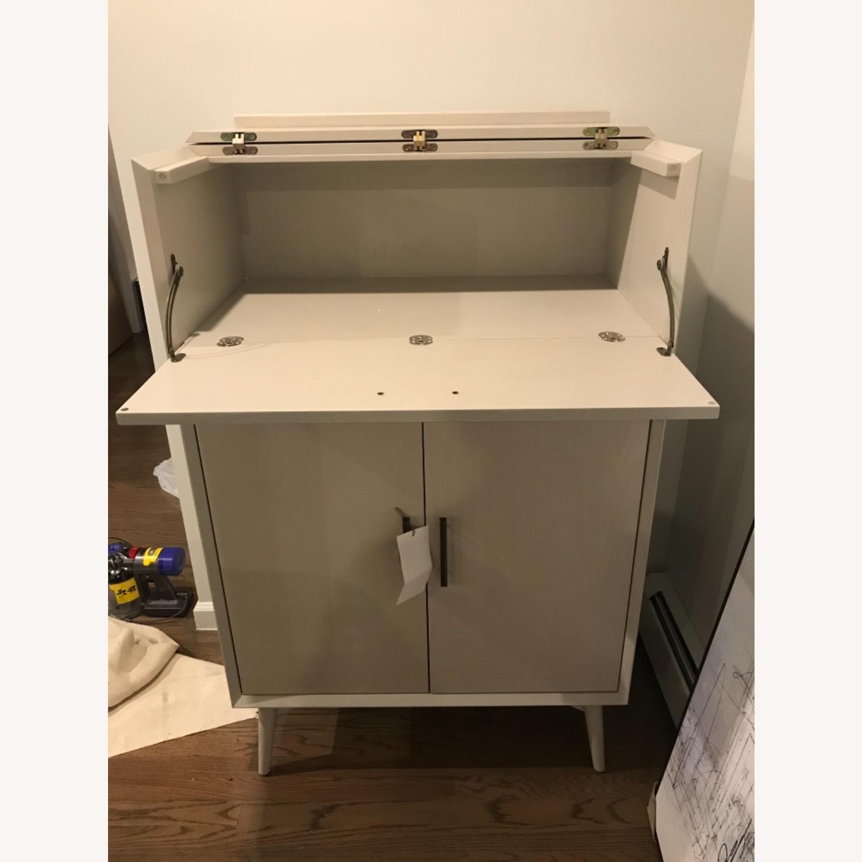 West Elm Bar Cabinet - image-5