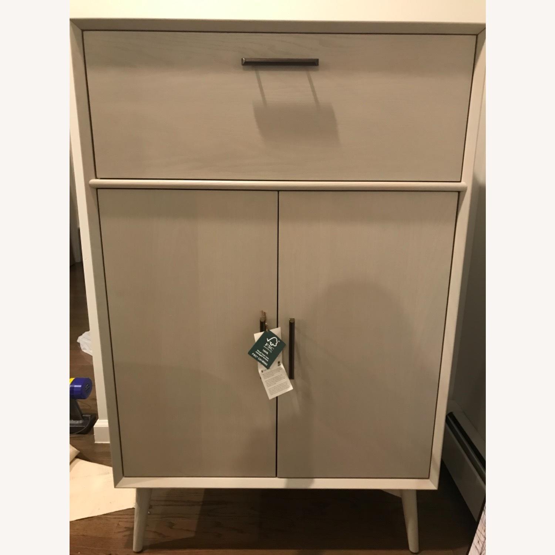 West Elm Bar Cabinet - image-4