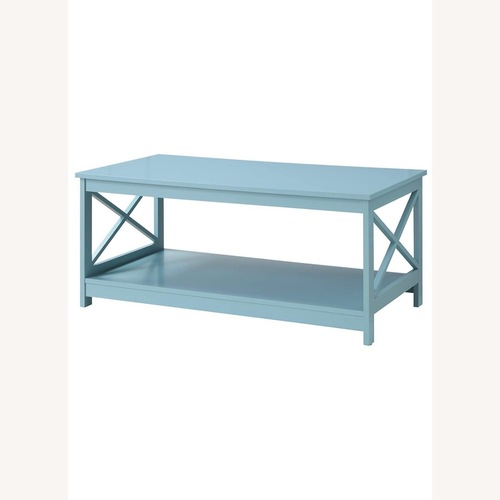 Used Convenience Concepts Oxford Coffee Table Sea Foam for sale on AptDeco
