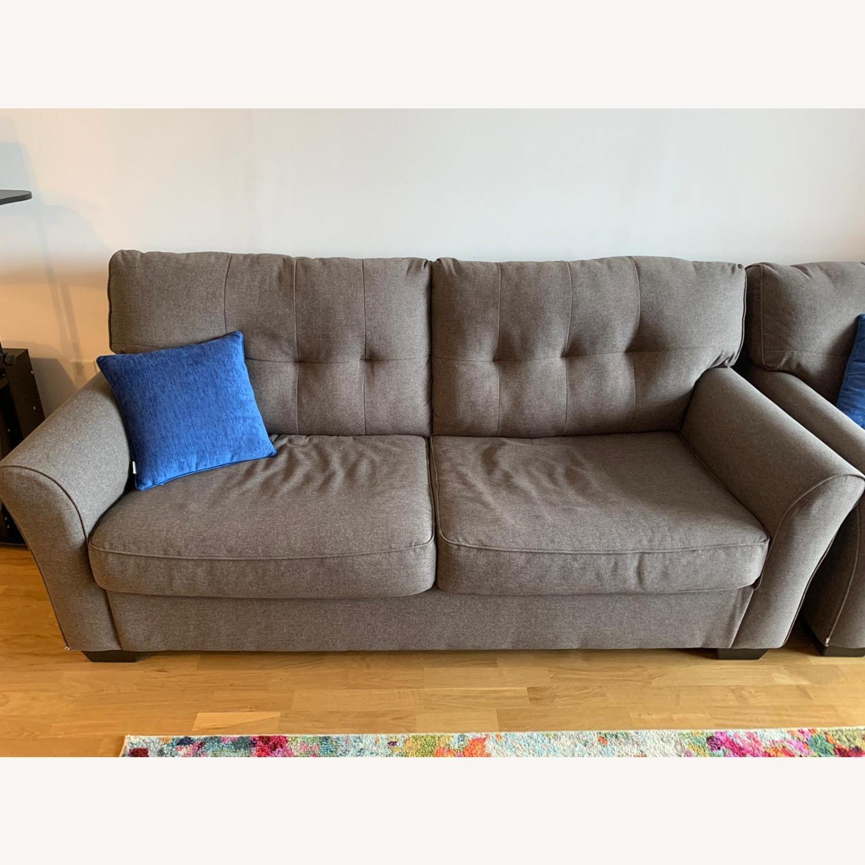 Raymour & Flanigan Sleeper Sofa - image-1
