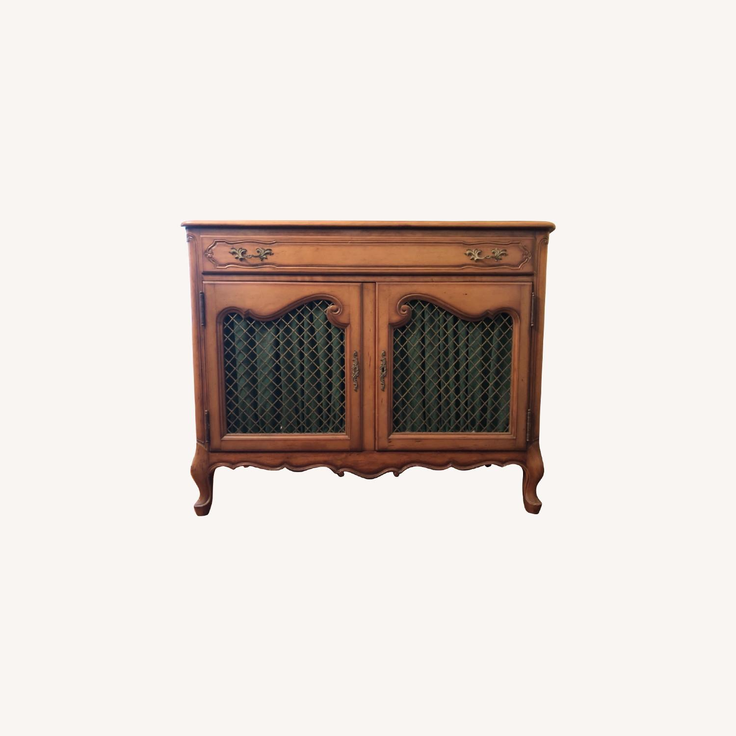 Antique Cherry Wood Sideboard - image-0
