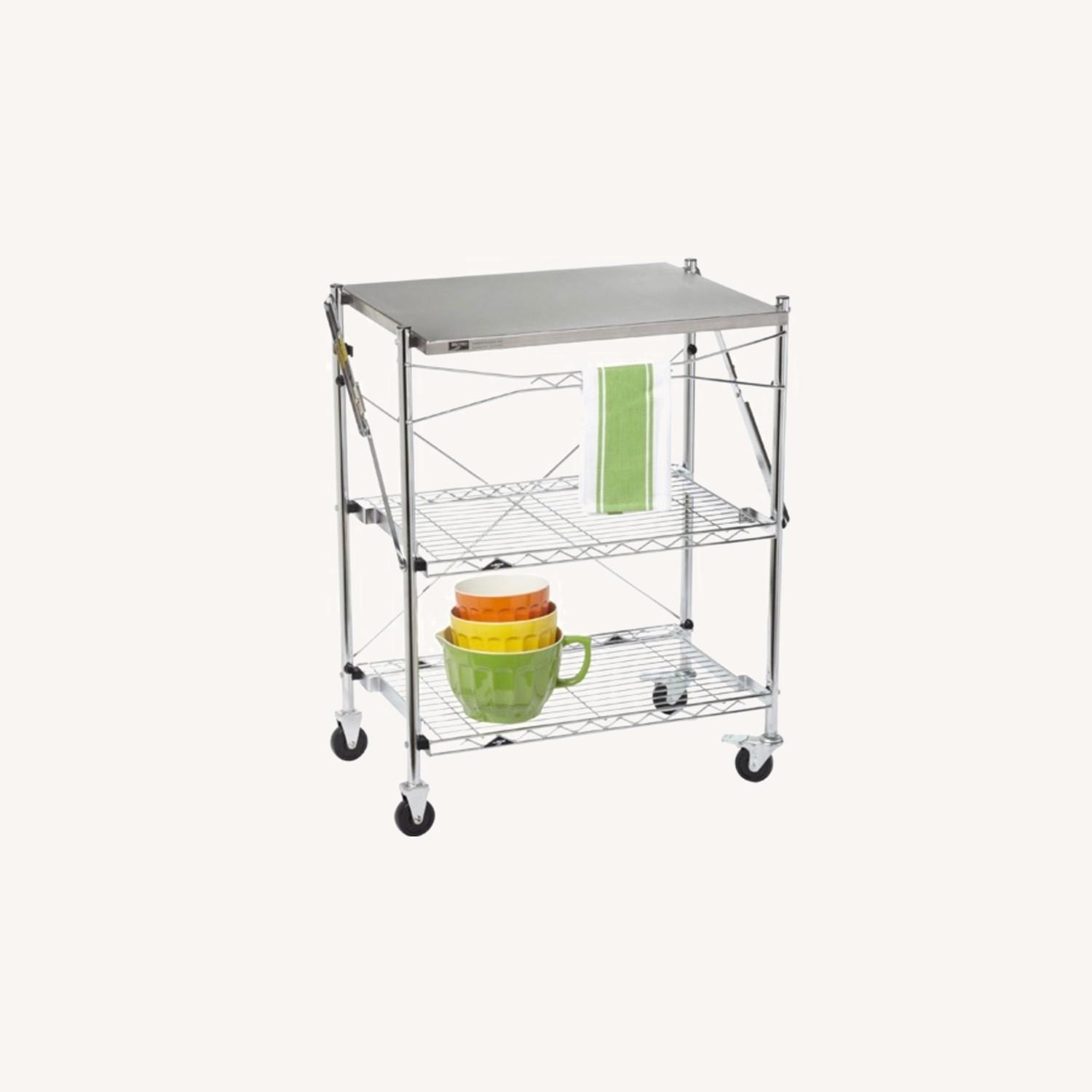 Container Store Kitchen Cart - image-0
