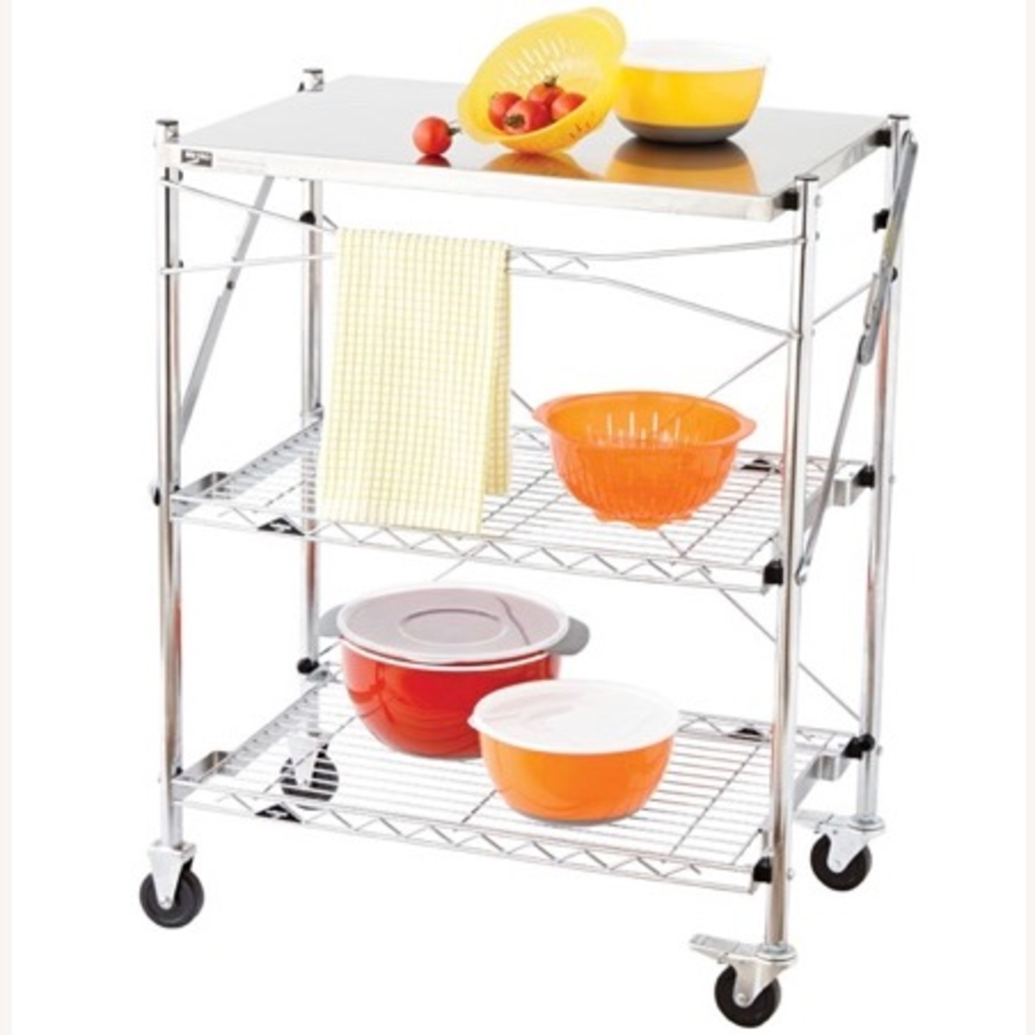 Container Store Kitchen Cart - image-3