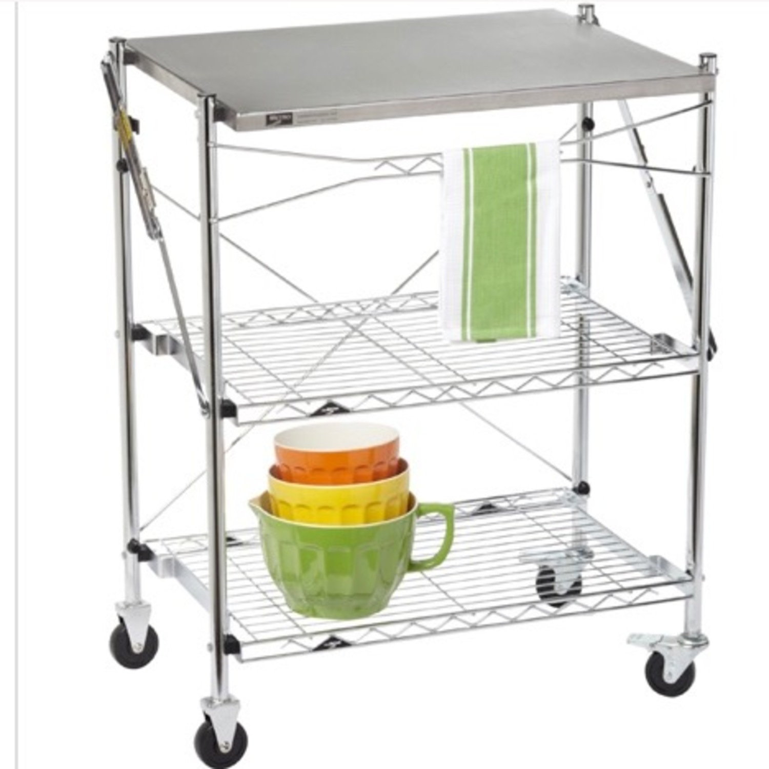Container Store Kitchen Cart - image-1