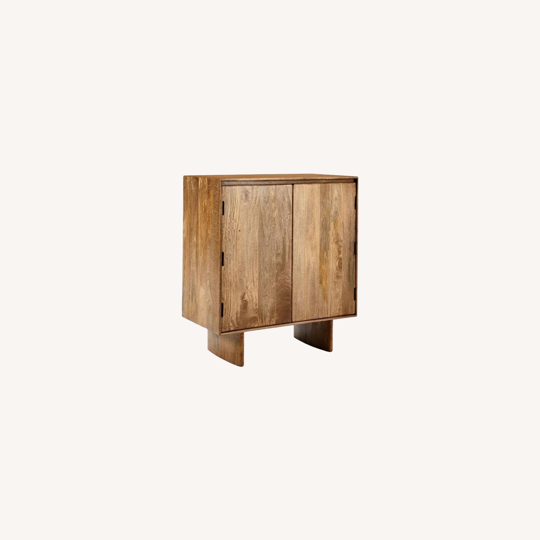 West Elm Anton Solid Wood Bar - image-0