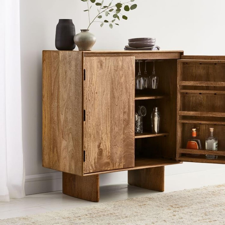 West Elm Anton Solid Wood Bar - image-2