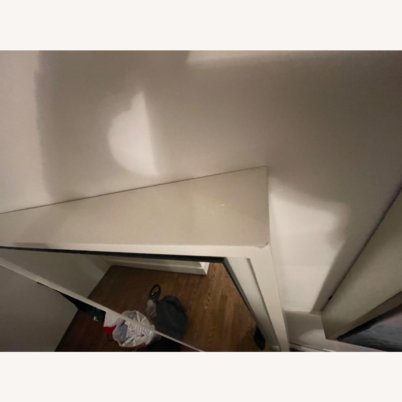 West Elm Floor Floating Mirror - image-4