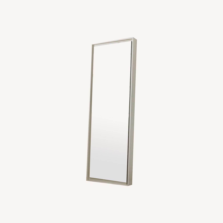 West Elm Floor Floating Mirror - image-0
