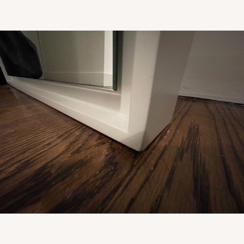 West Elm Floor Floating Mirror - image-6