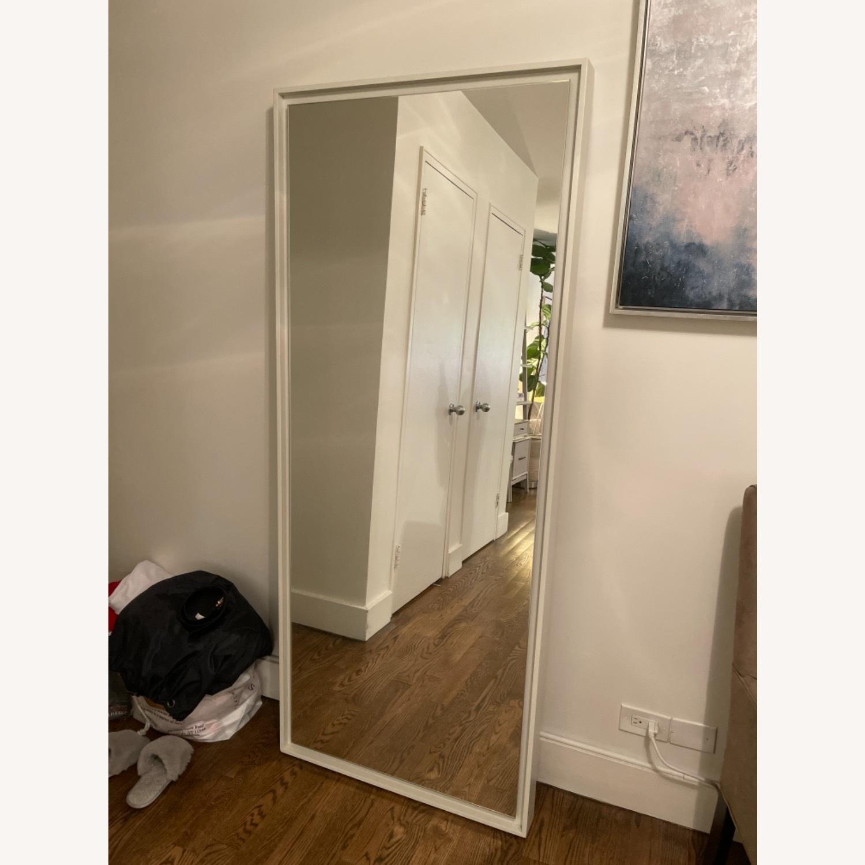 West Elm Floor Floating Mirror - image-1