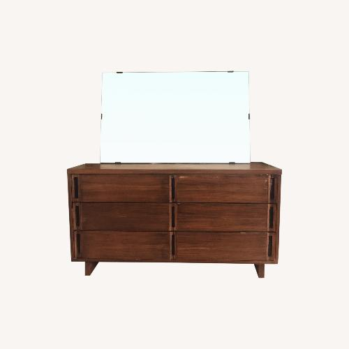 Used Mid Century Modern Dresser with Mirror for sale on AptDeco