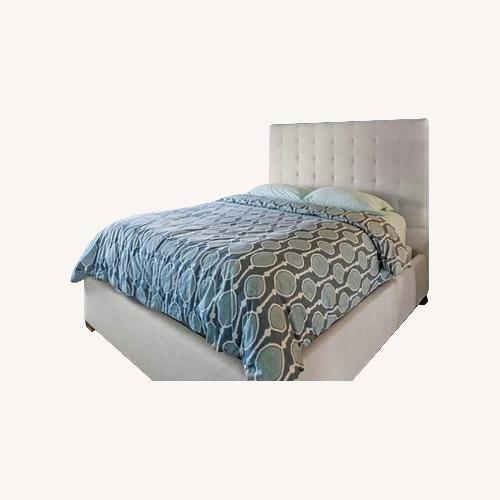 Used Crate & Barrel Upholstered Bed for sale on AptDeco