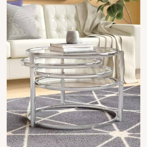 Used Wade Logan Cotham Coffee Table for sale on AptDeco