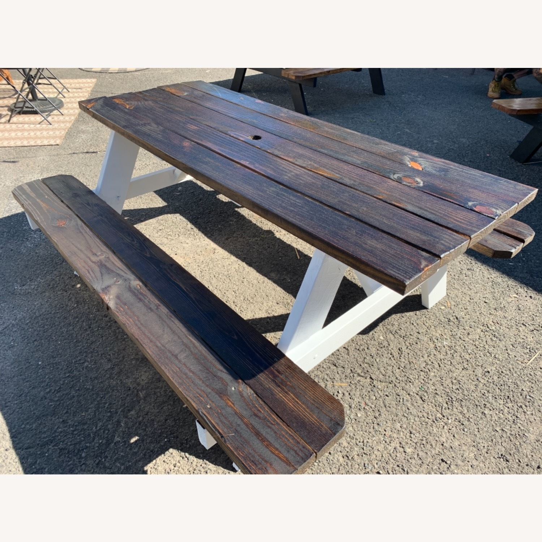 Farmhouse Picnic Style Table - image-4