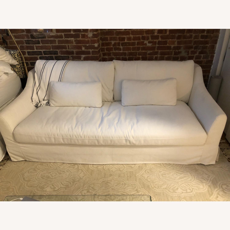 IKEA White Sofa - image-1