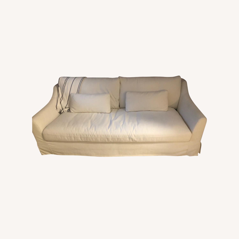 IKEA White Sofa - image-0