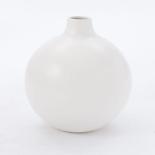 Used West Elm Pure White Ceramic Ball, White for sale on AptDeco
