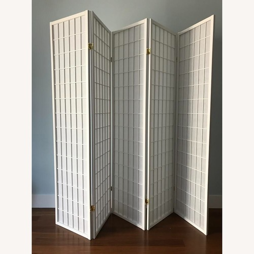Used Legacy Decor Oriental Screen Divider 5 Panel for sale on AptDeco