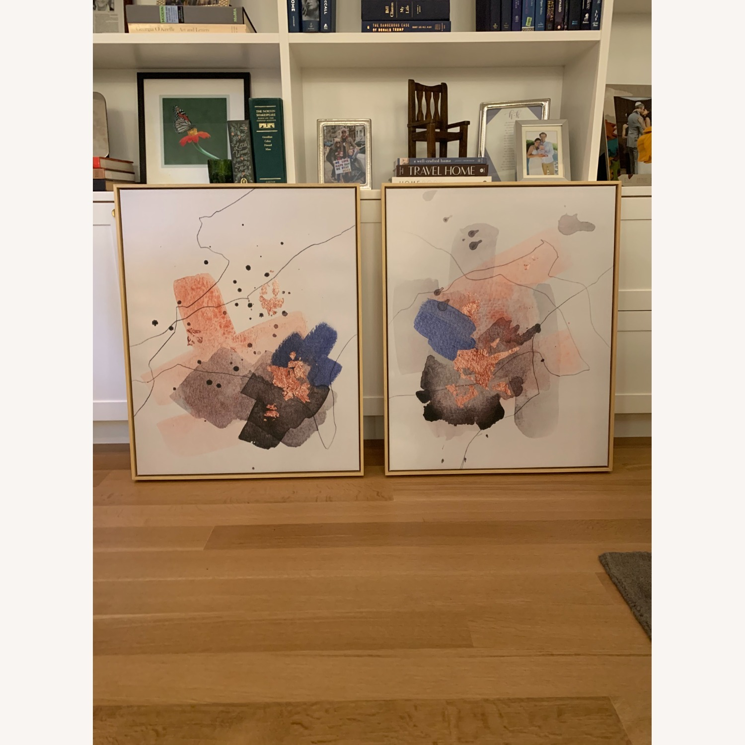 2 Art Pieces (Diptych), Framed Canvas - image-4