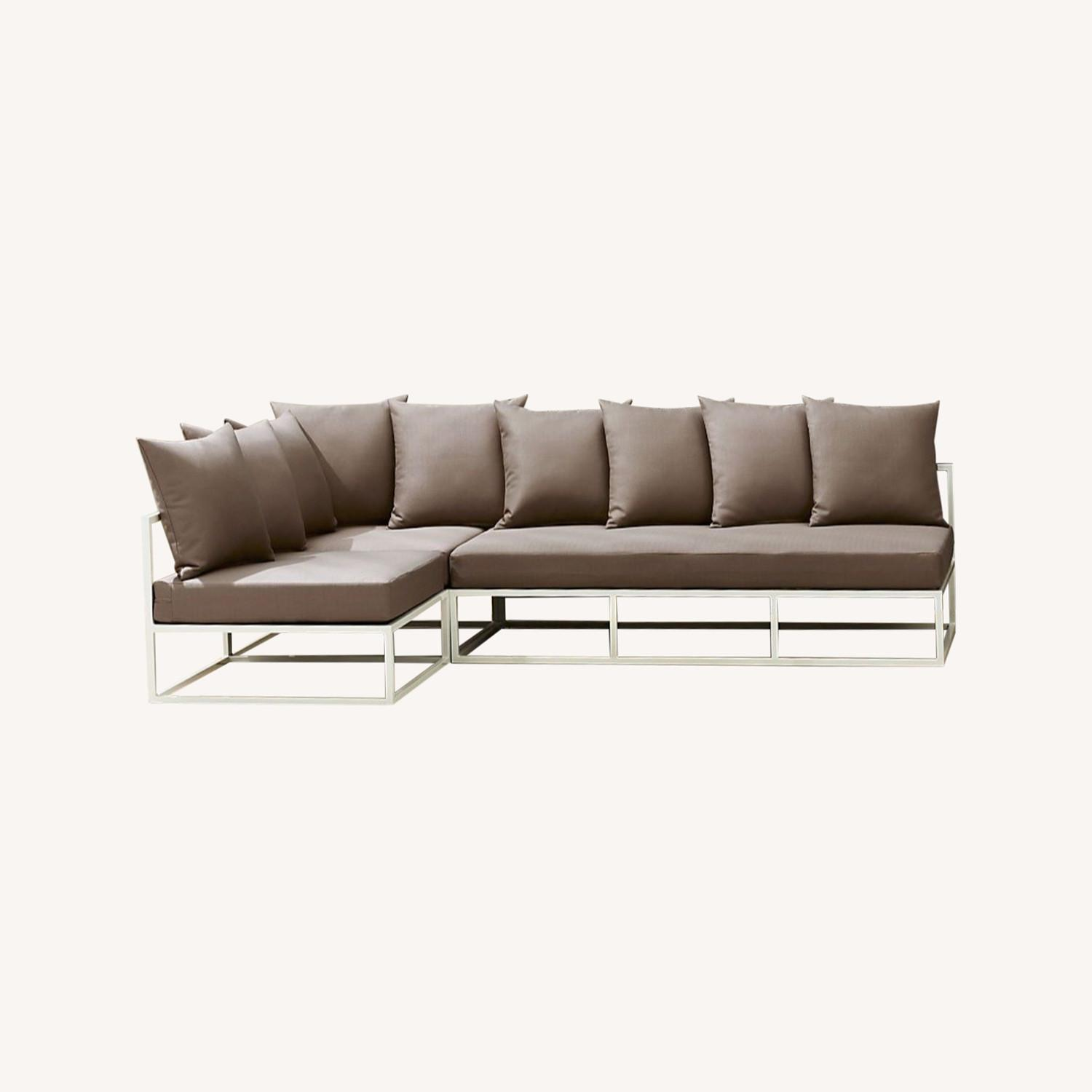 CB2 Casbah Outdoor Sectional Couch - image-0