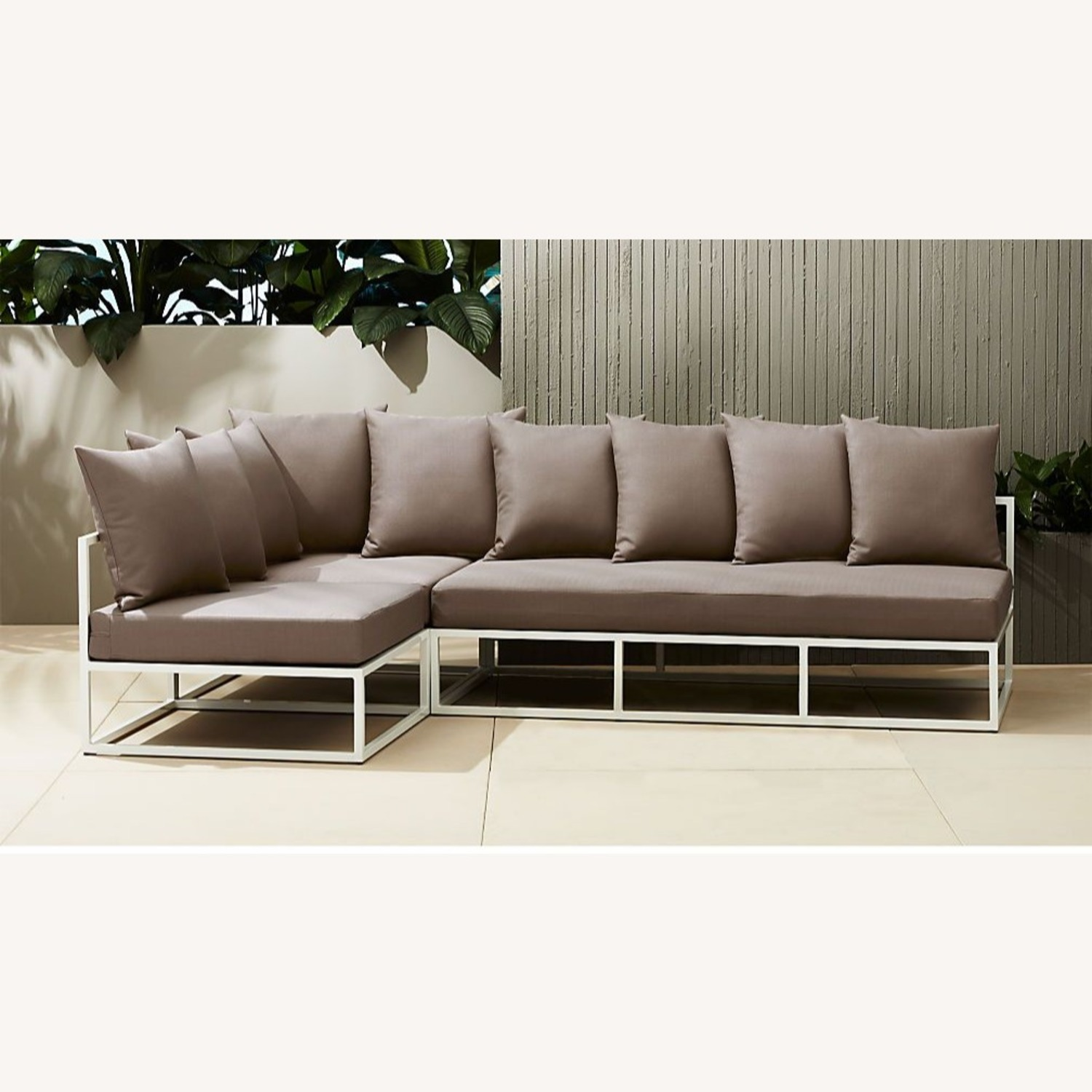 CB2 Casbah Outdoor Sectional Couch - image-1