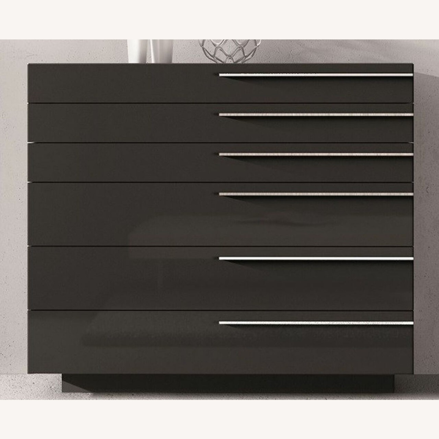Chiffonier In Wood Veneers & Natural Lacquers - image-0