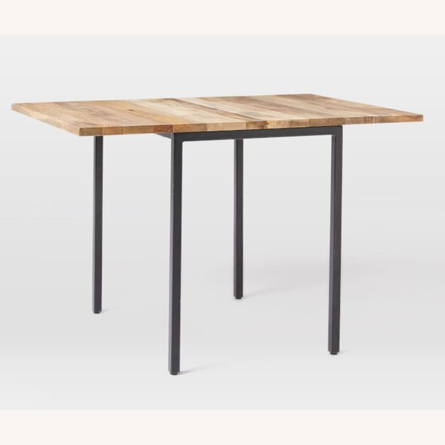 West Elm Box Frame Drop Leaf Dining Table - image-7