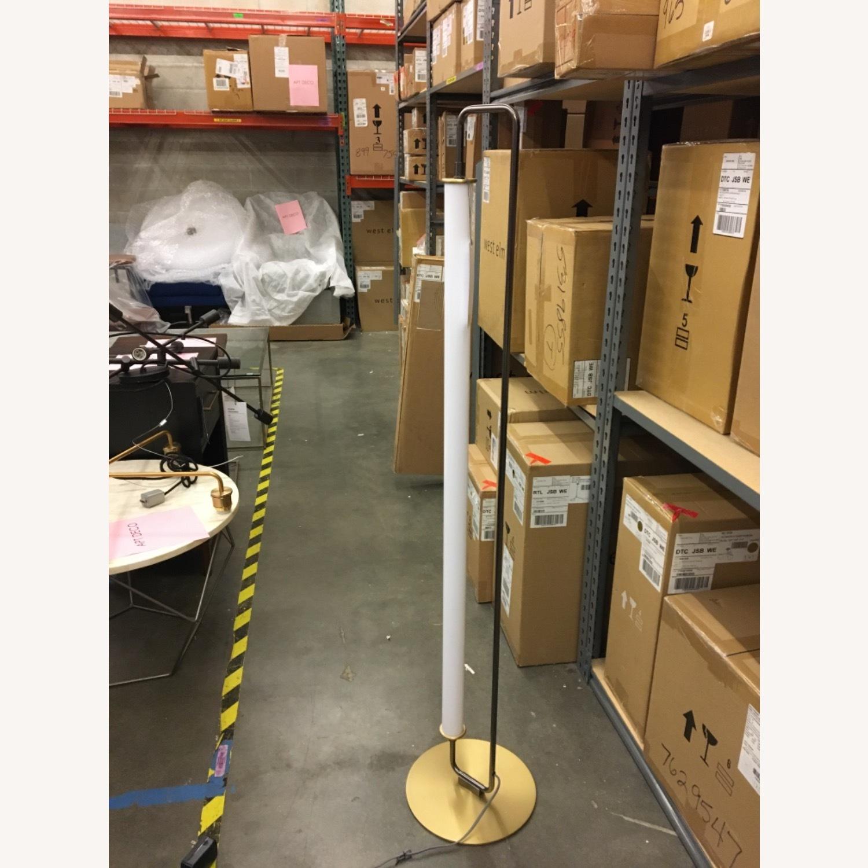 West Elm Linear Metal LED Floor Lamp - image-1
