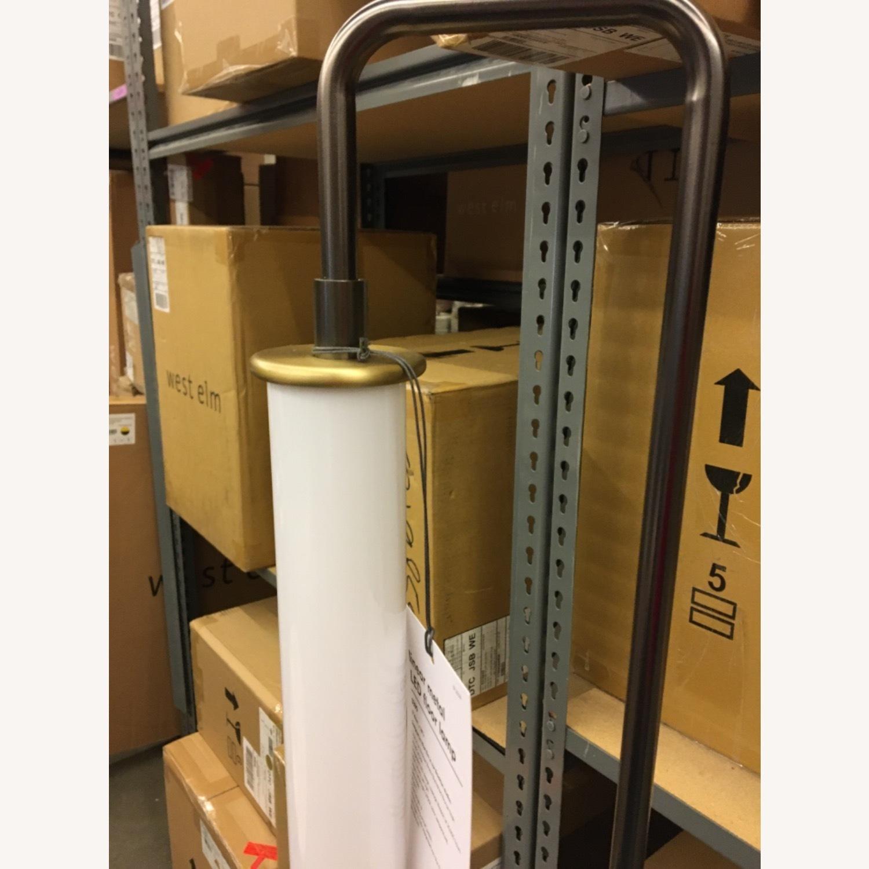 West Elm Linear Metal LED Floor Lamp - image-3