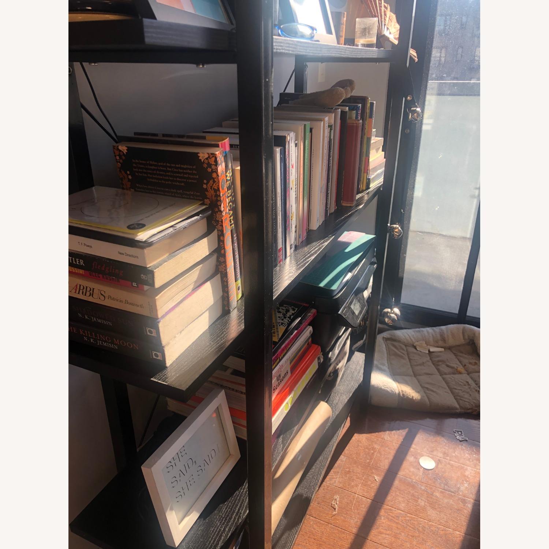 5 Tier Black Bookcase - image-4