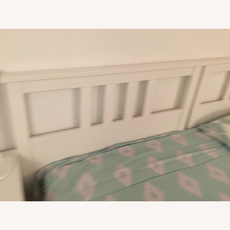 IKEA Twins Bed Frame (White) - image-2