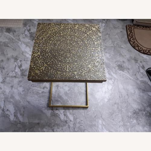 Used World Market Laptop Table for sale on AptDeco