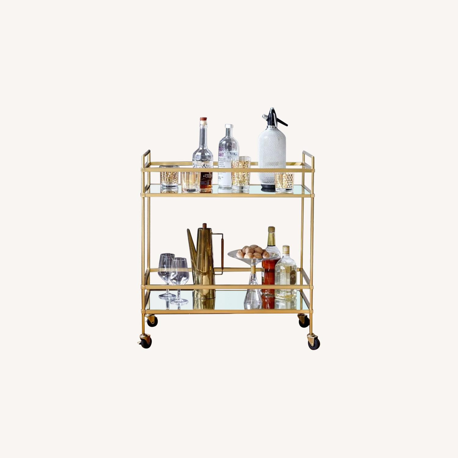 West Elm Bar Cart - image-0