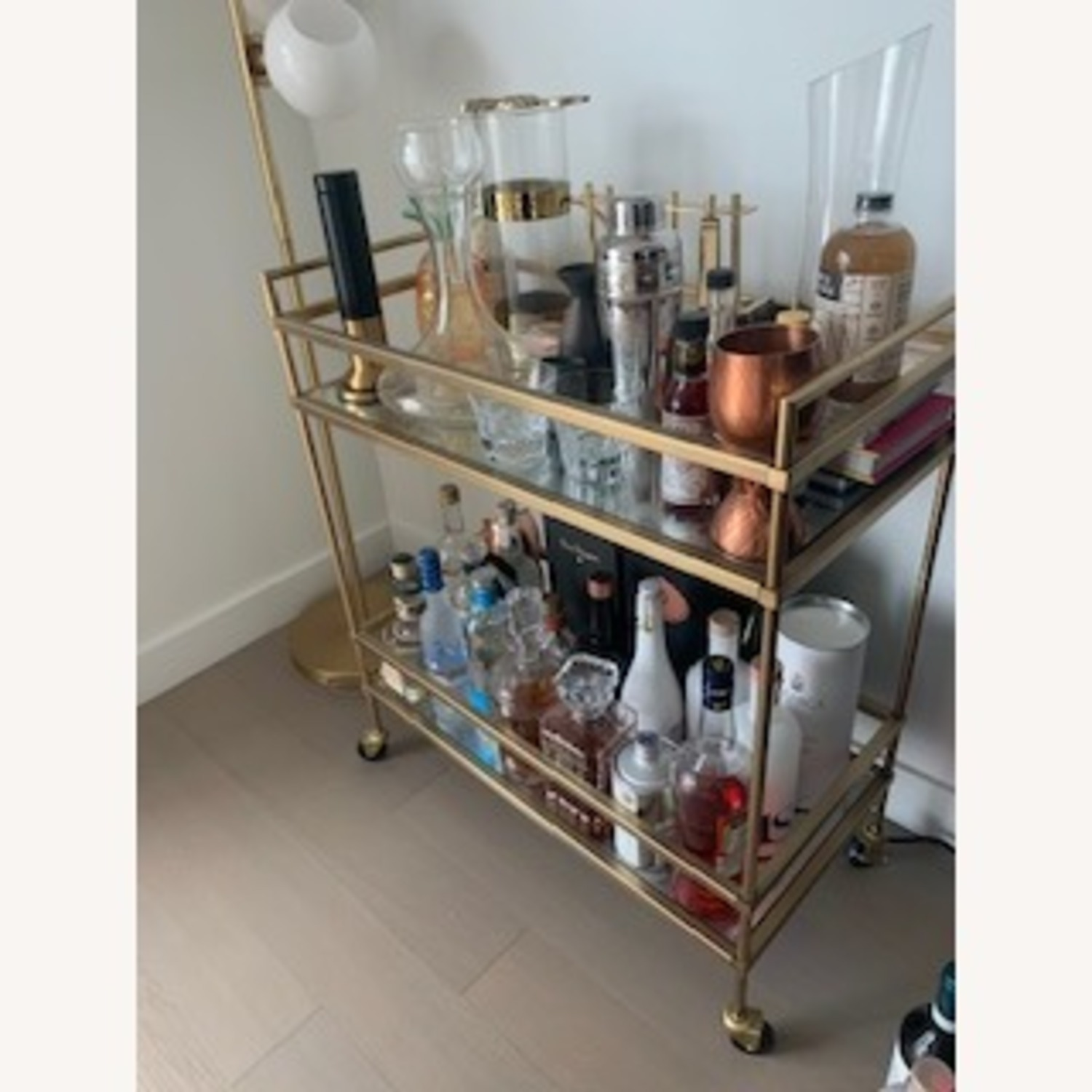 West Elm Bar Cart - image-2
