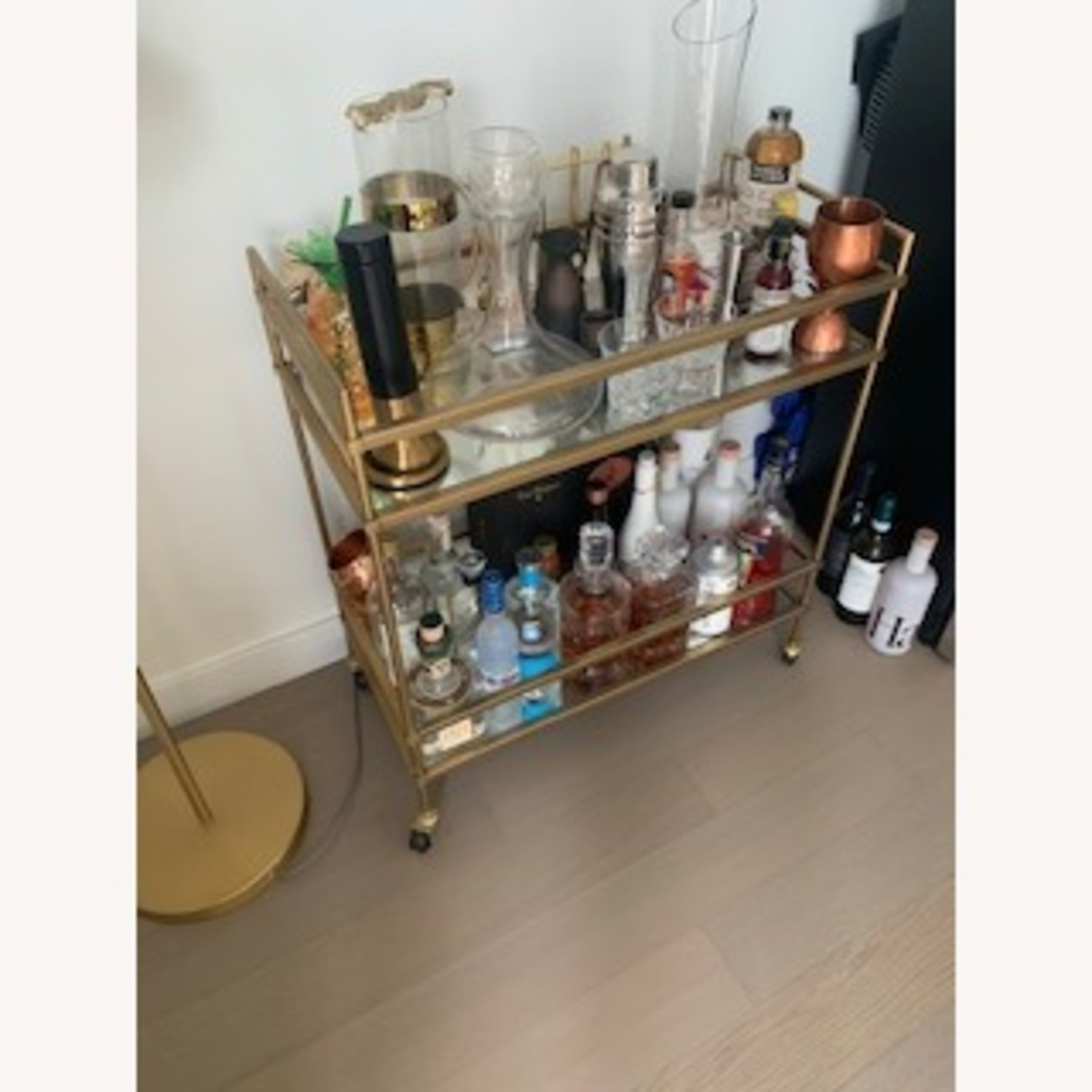 West Elm Bar Cart - image-3
