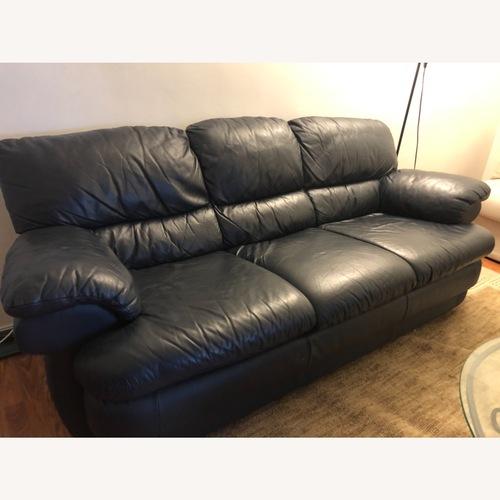 Used Chateau Dax Leather Sofa for sale on AptDeco