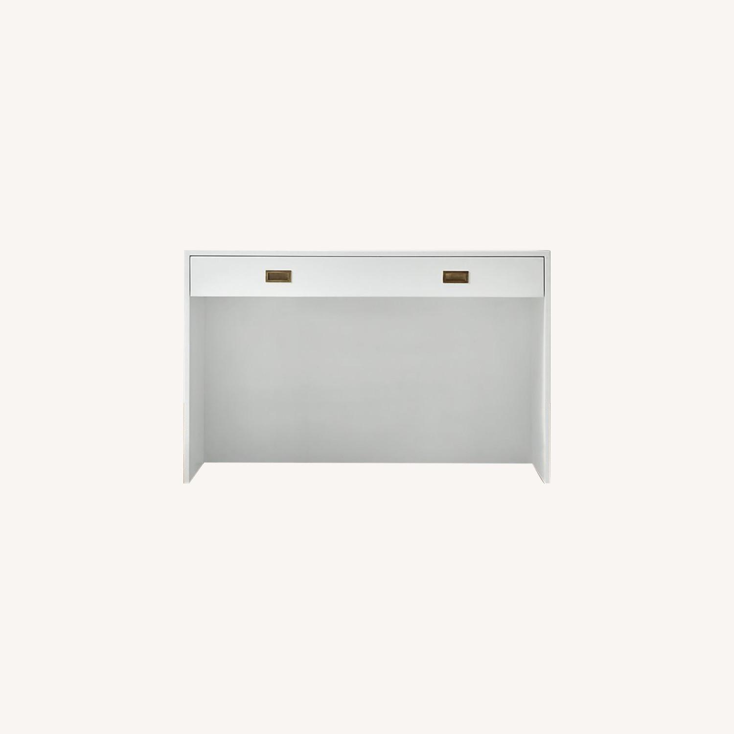 Restoration Hardware Avalon Desk in White - image-0