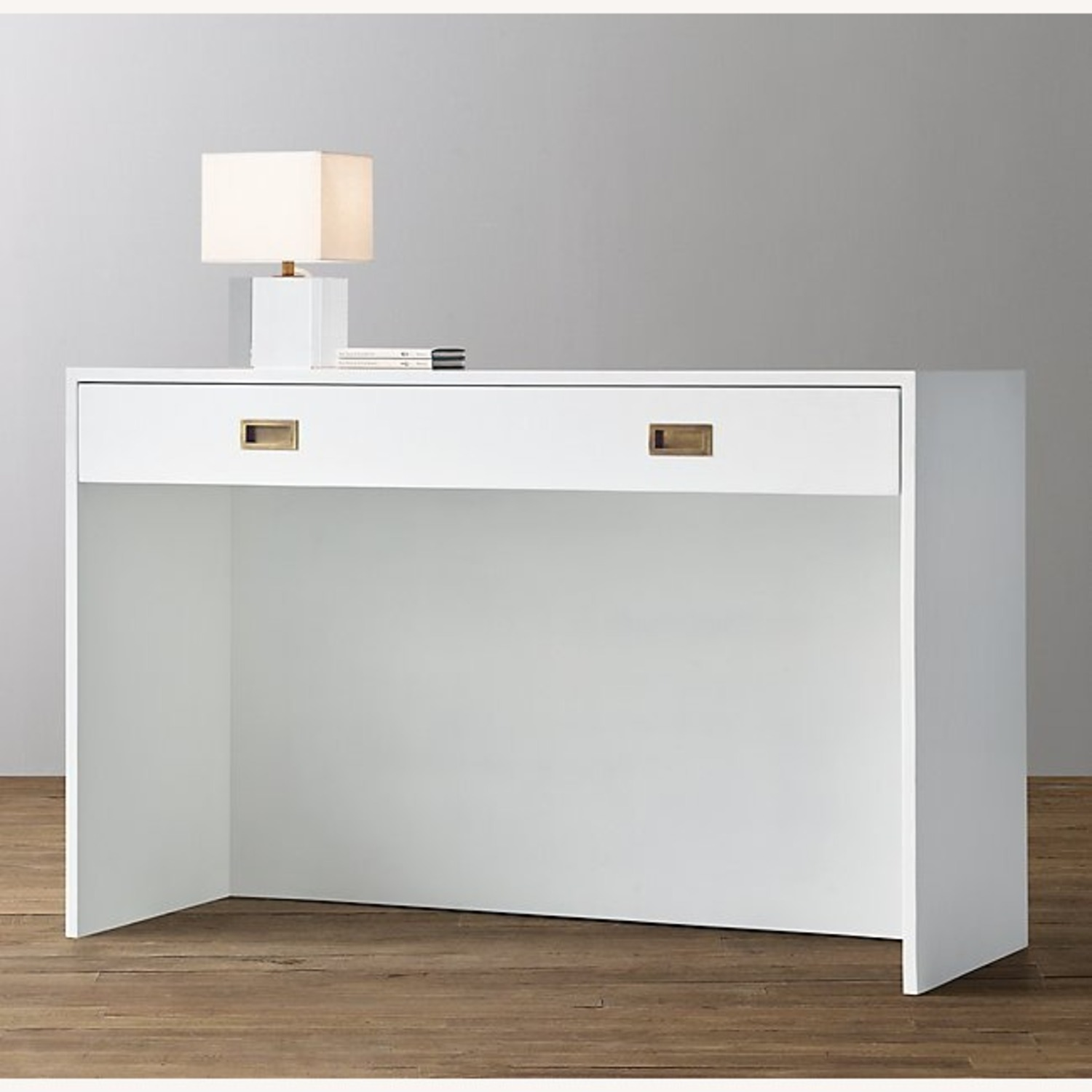 Restoration Hardware Avalon Desk in White - image-2