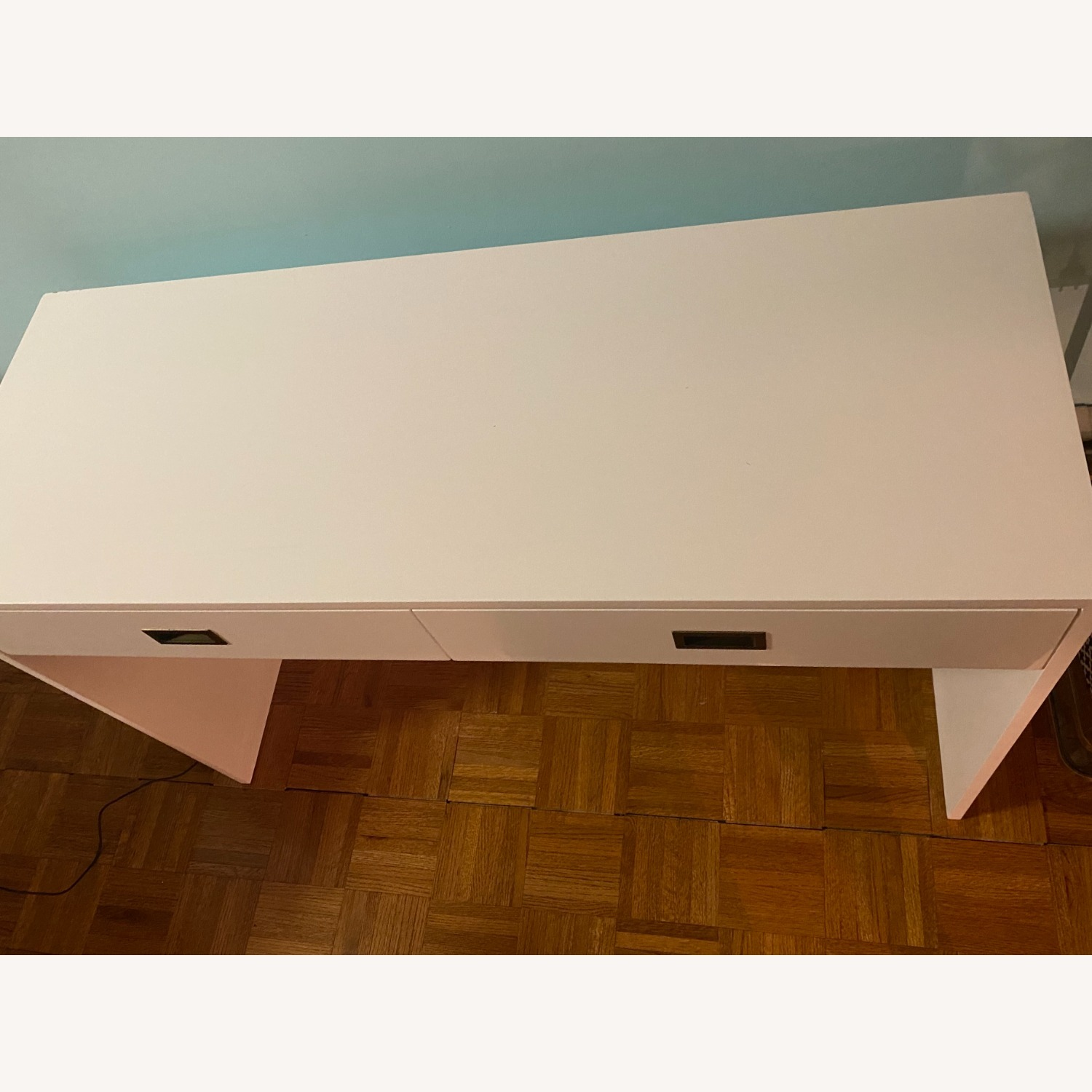 Restoration Hardware Avalon Desk in White - image-7
